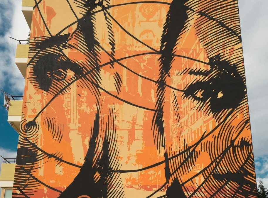 Angelomà incontra lo street artist Chekos'Art