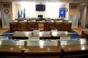L'aula del Consiglio regionale di Basilicata