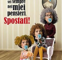 """19 e 20 luglio Cinzia Leone in """"Mamma sei sempre nei miei pensieri. Spostati!"""""""