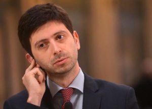 L'on. Roberto Speranza