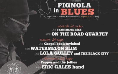 """Al via la XXII edizione del """"Pignola in Blues"""""""