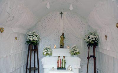I riti per onorare San Rocco ad Irsina nel fotoreportage di Giacomo Silvano
