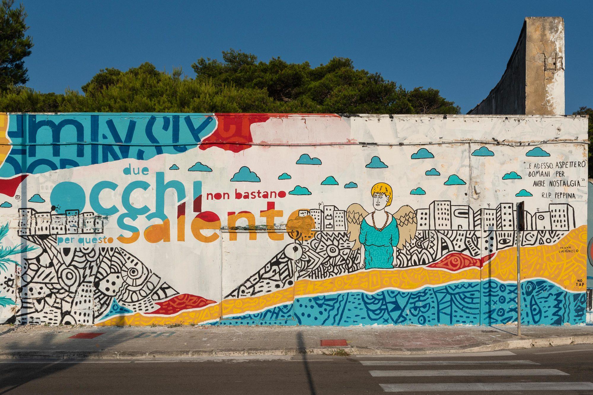 Frank Lucignolo - Majilina - Mister Caos  - Foto di Walls Of Milano