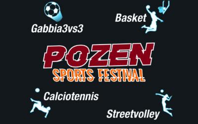 """dal 27 al 31 Agosto la Potenza sportiva al """"Pozen Rock Festival"""""""