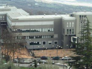 L'ospedale di Chiaromonte