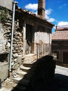 la casa di Jimmy Savo a Stigliano