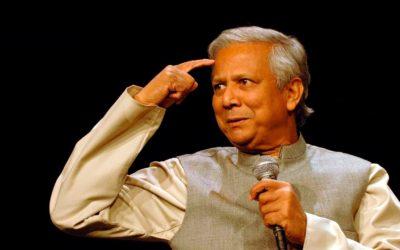 il Premio  Nobel per la pace Muhammad Yunus a Matera
