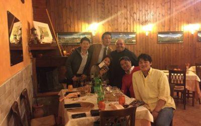 Luna Rossa incanta i Maestri della ristorazione giapponese a Terranova del Pollino