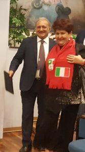 i senatori Salvatore Margiotta e Teresa Bellanova