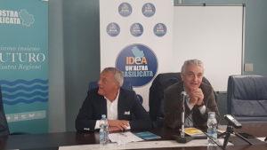 il sen.Gaetano Quagliariello e il Consigliere Nicola Benedetto