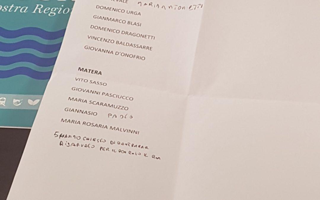 """Nicola Benedetto: che IDeA! Ecco i nomi di Un'altra Basilicata, compreso """"il famoso Sasso di Matera"""""""