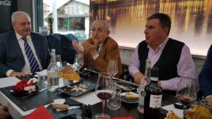 Il Consigliere regionale Franco Mollica con Gabriele Di mauro e Franco Simone