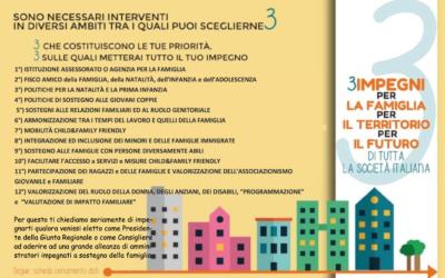 """Presentato il Manifesto """"3 impegni per la Famiglia"""""""