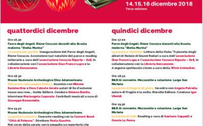"""14, 15 e 16 dicembre – terza edizione della """"Festa della parola"""""""