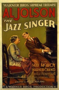 Locandina di Il cantante di jazz
