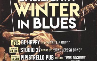 """Da sabato 15 dicembre inizia la seconda edizione di """"Basilicata Winter in Blues"""", sei date in cinque comuni lucani"""