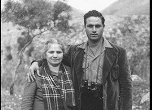 Salvatore Giuliano con la madre Maria Lombardo