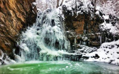 Non tutto il Mal(tempo) vien per nuocere, lo spettacolo di ghiaccio delle Cascate di San Fele