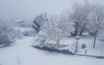 10 gennaio in Basilicata: tanto freddo, tanta neve