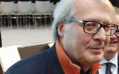 ULTIM'ORA! Vittorio Sgarbi conferma: è pronto a correre da Presidente con una sua lista