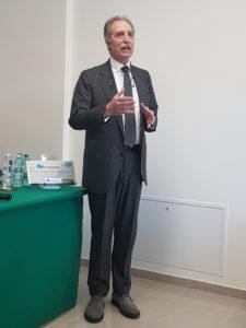 Il Presidente della Regione Basilicata Vito Bardi