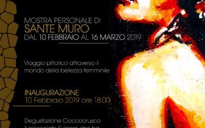 """La mostra """"#Woman"""" di Sante Muro a Matera dal 10 febbraio"""