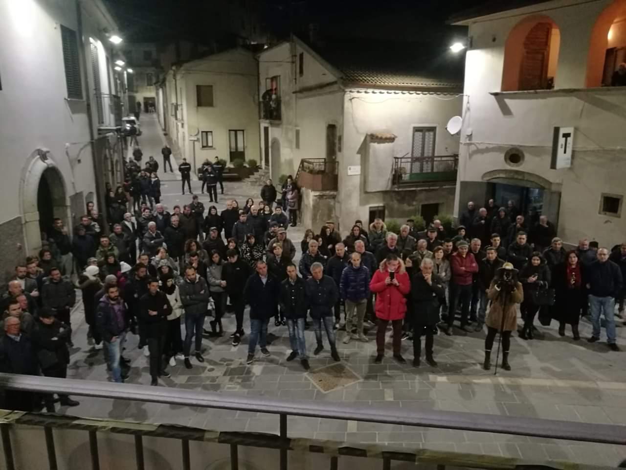 10 marzo il popolo di Triunfo e Trerotola ad Abriola