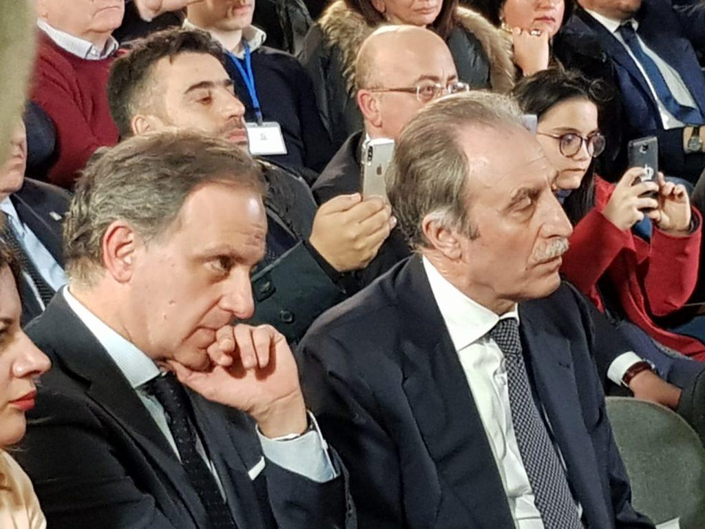 Giuseppe Moles e Vito Bardi
