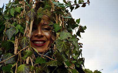 Il Rumit e la Foresta che cammina per il Carnevale di Satriano di Lucania 2019