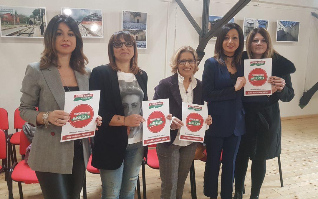 2 marzo le donne cendidate dei Progressisti