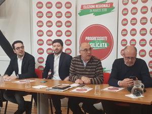 La presentazione delle liste di Progressisti per la Basilicata (Ph. Luisa Calza)