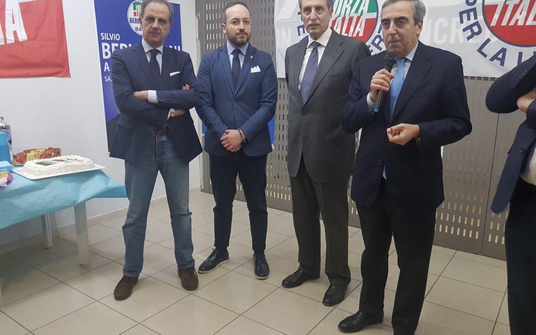 """Gasparri: """"Sono qui per Bardi e Riviello, ma anche per dire, da romanista, che io non avrei esonerato Di Francesco, ma Pallotta"""""""