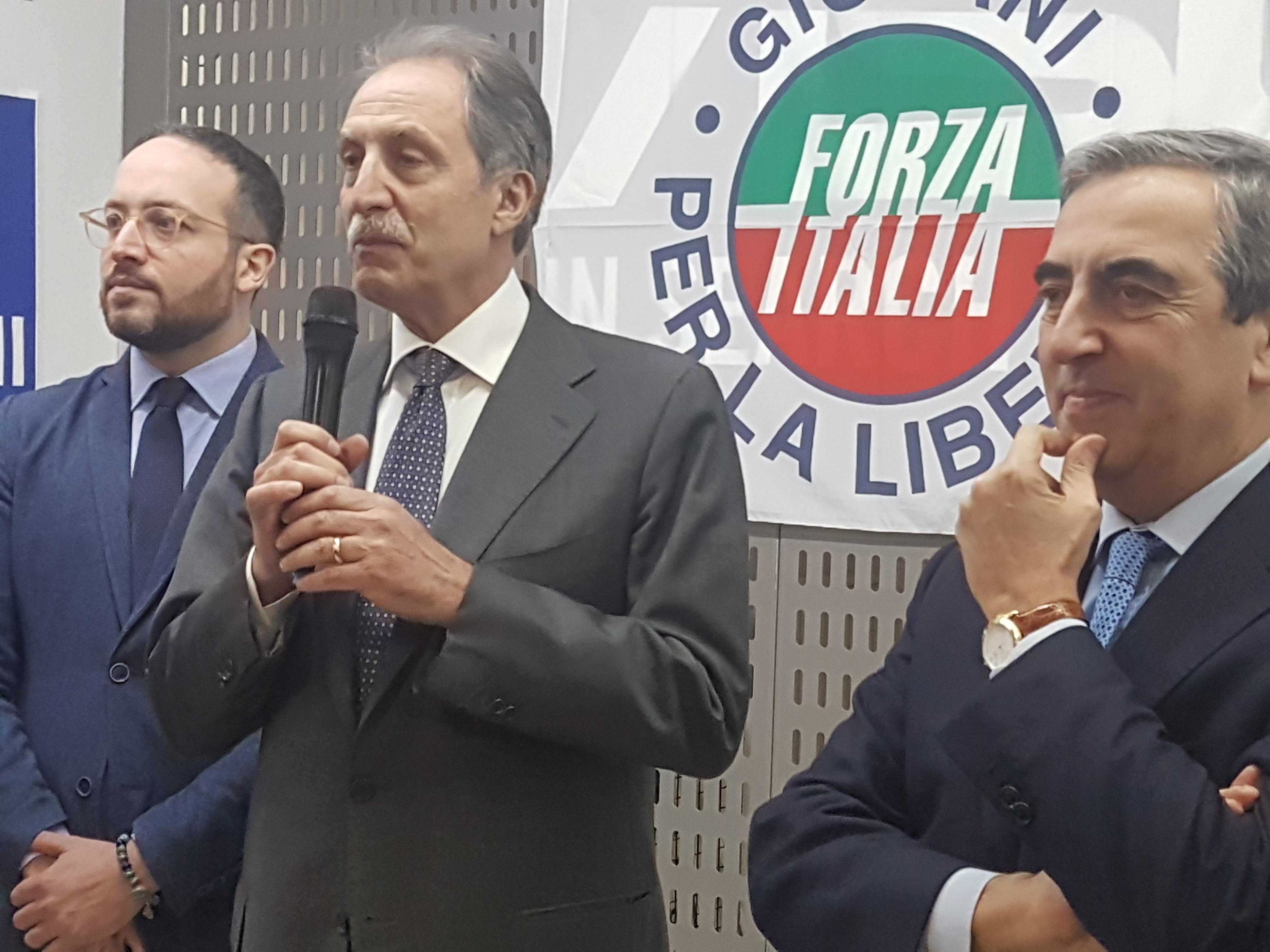 Riviello, Bardi, Gasparri ph. Luisa Calza