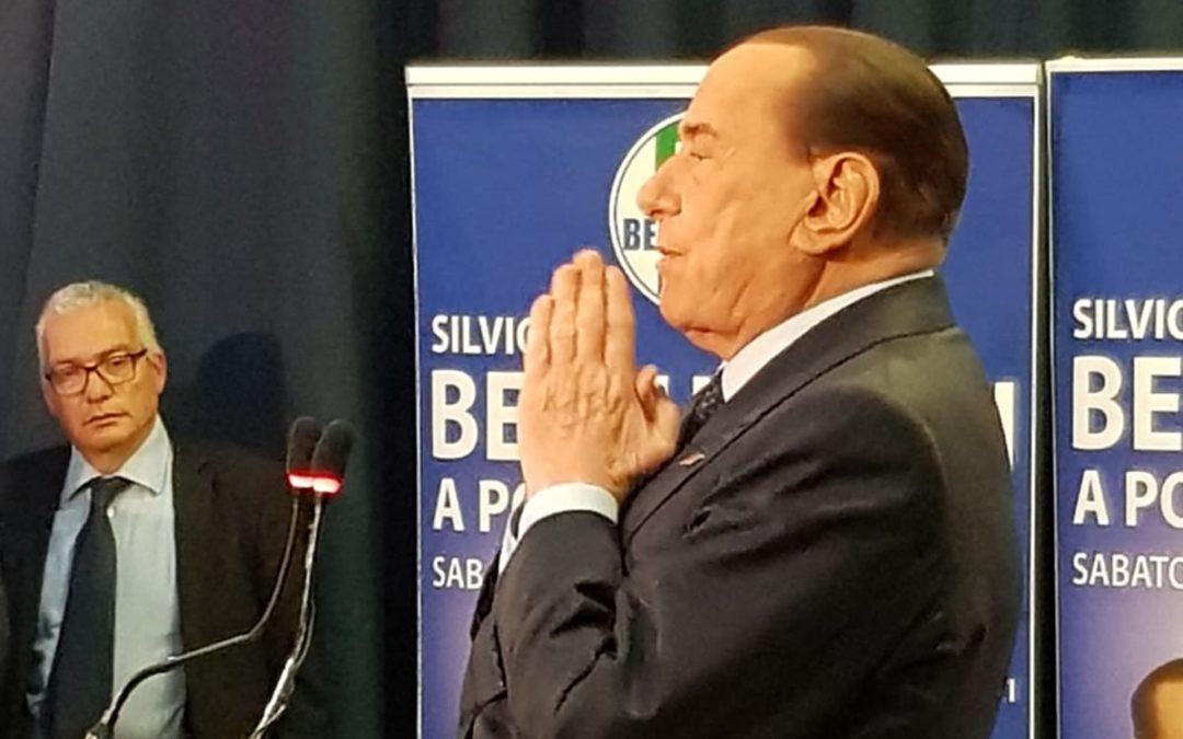 Berlusconi a Potenza …in seminario. Presentate le liste di Forza Italia