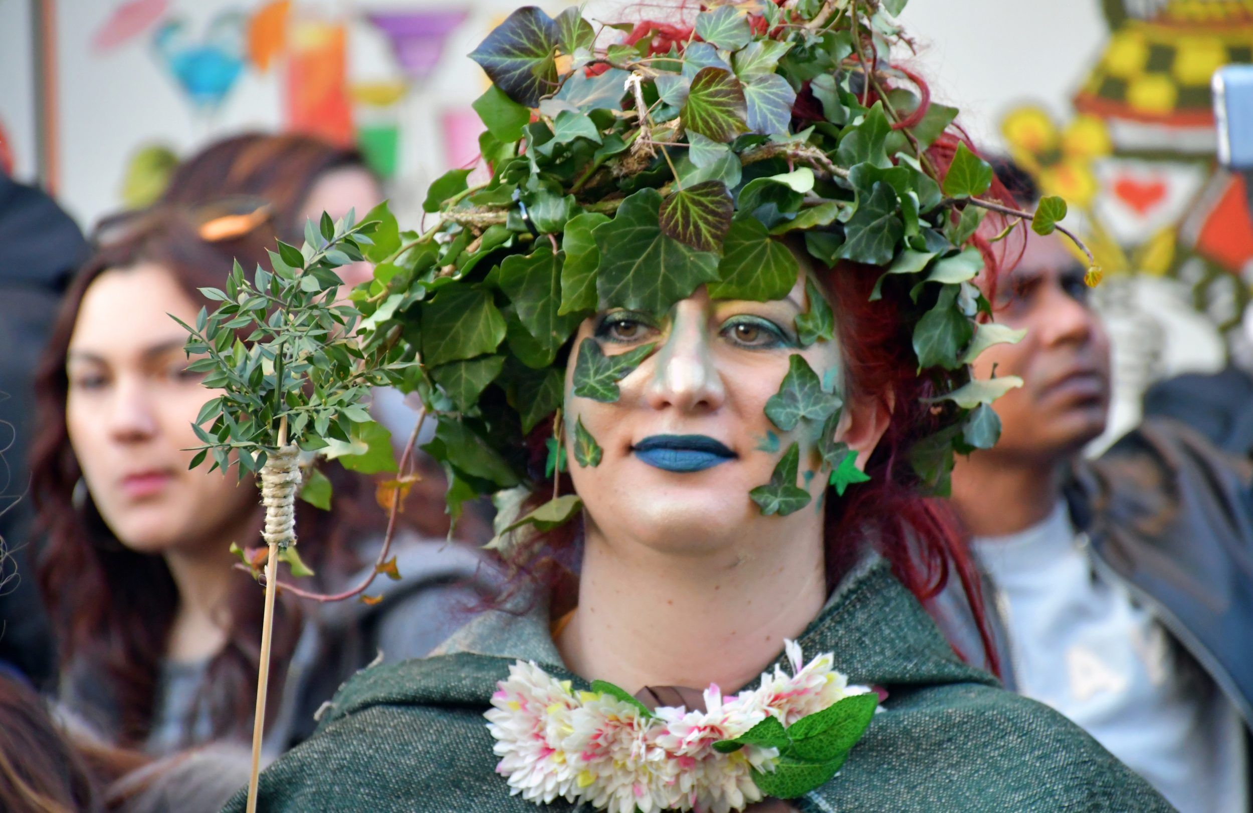 Il Rumita e la Foresta che cammina per il Carnevale di Satriano di Lucania - foto di Giacomo Silvano