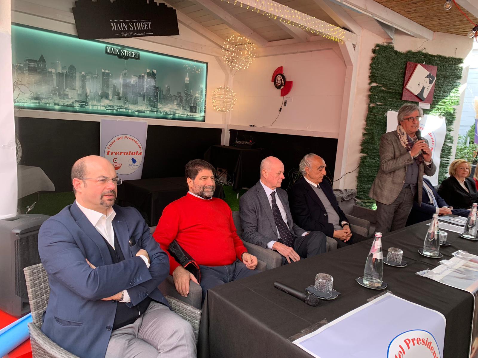 5 marzo Bardi e Tabacci sostengono Trerotola