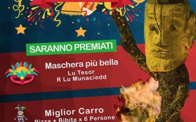 5 Marzo a Savoia di Lucania – 18° edizione del Carnevale Salviano