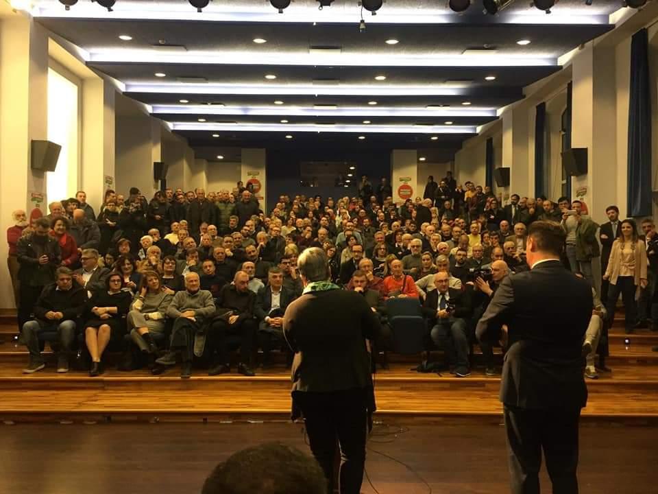 7 marzo Bersani a Potenza