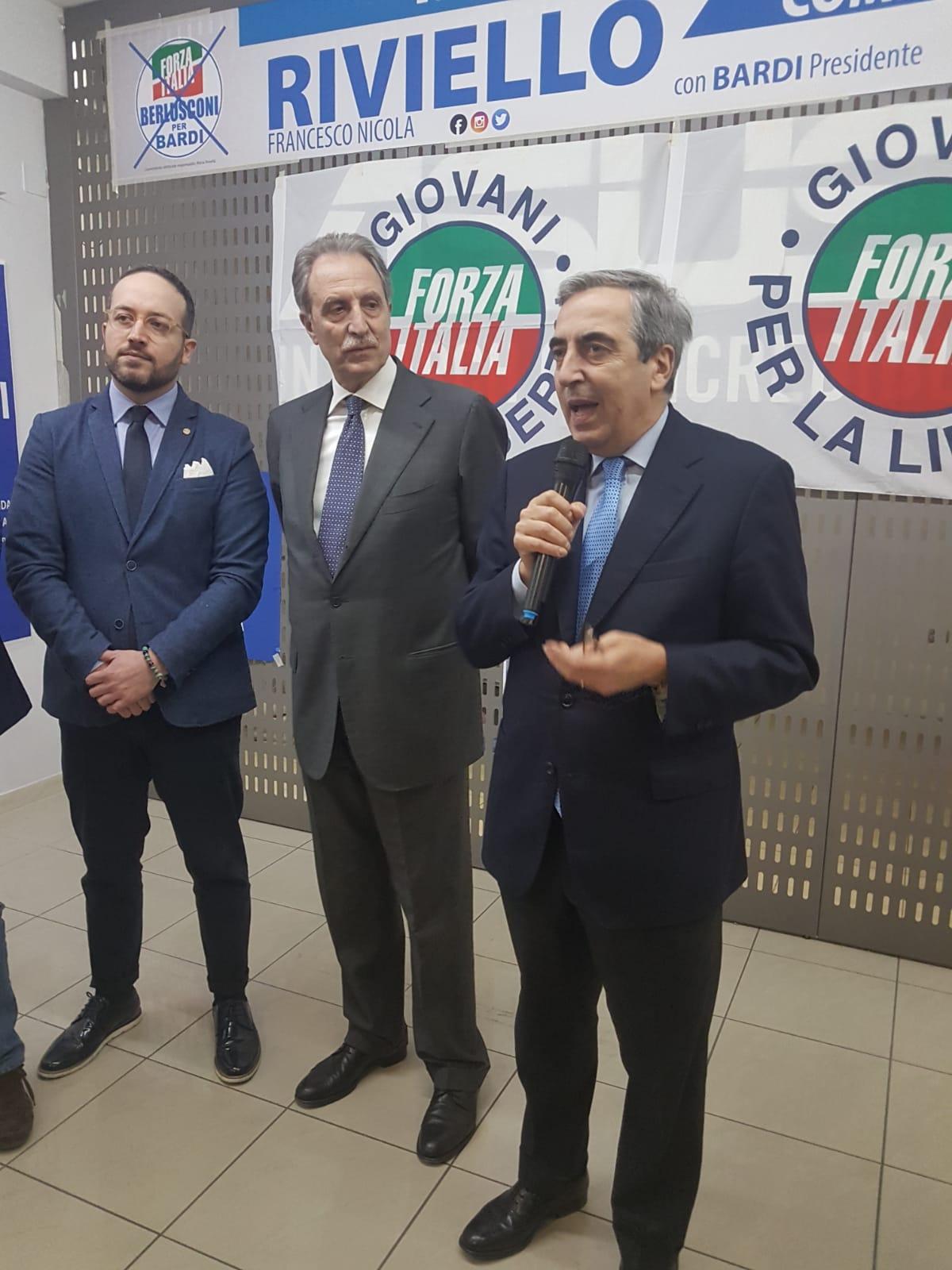 7 marzo Gasparri, Bardi, Riviello
