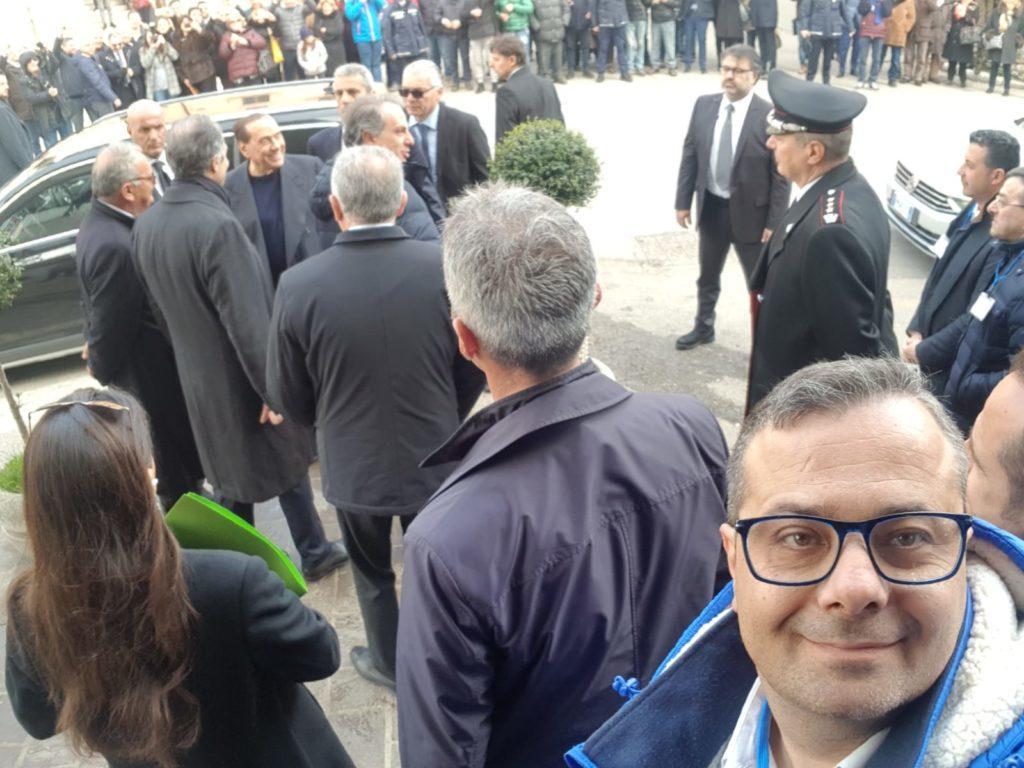 Silvio Berlusconi a Potenza