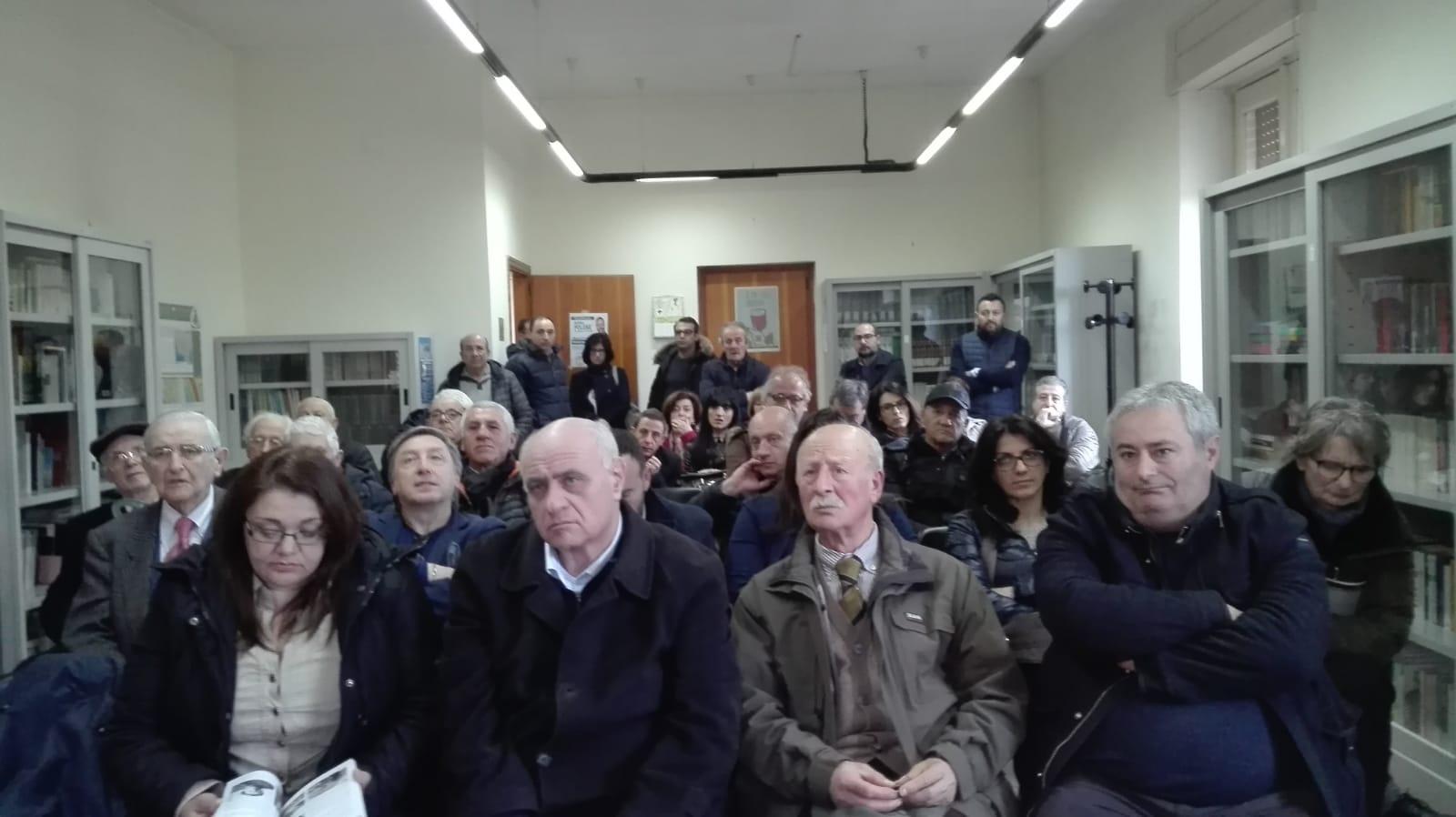 8 marzo il popolo di Polese a Tramutola