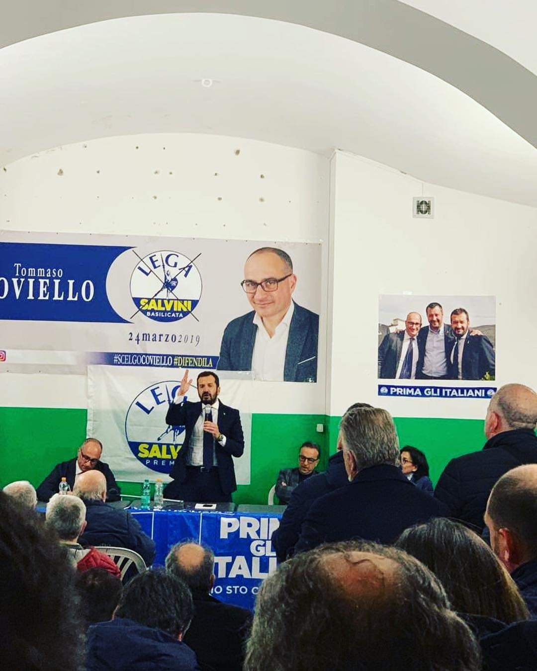 8 marzo la lgea e COviello a Rionero