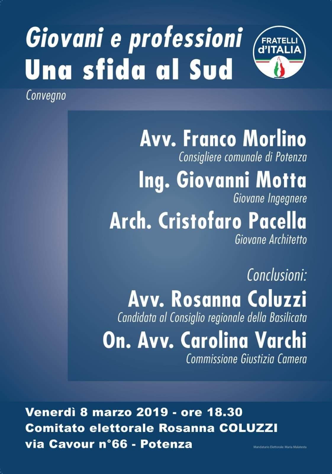 8 marzo l'iniziativa di Fratelli d'Italia