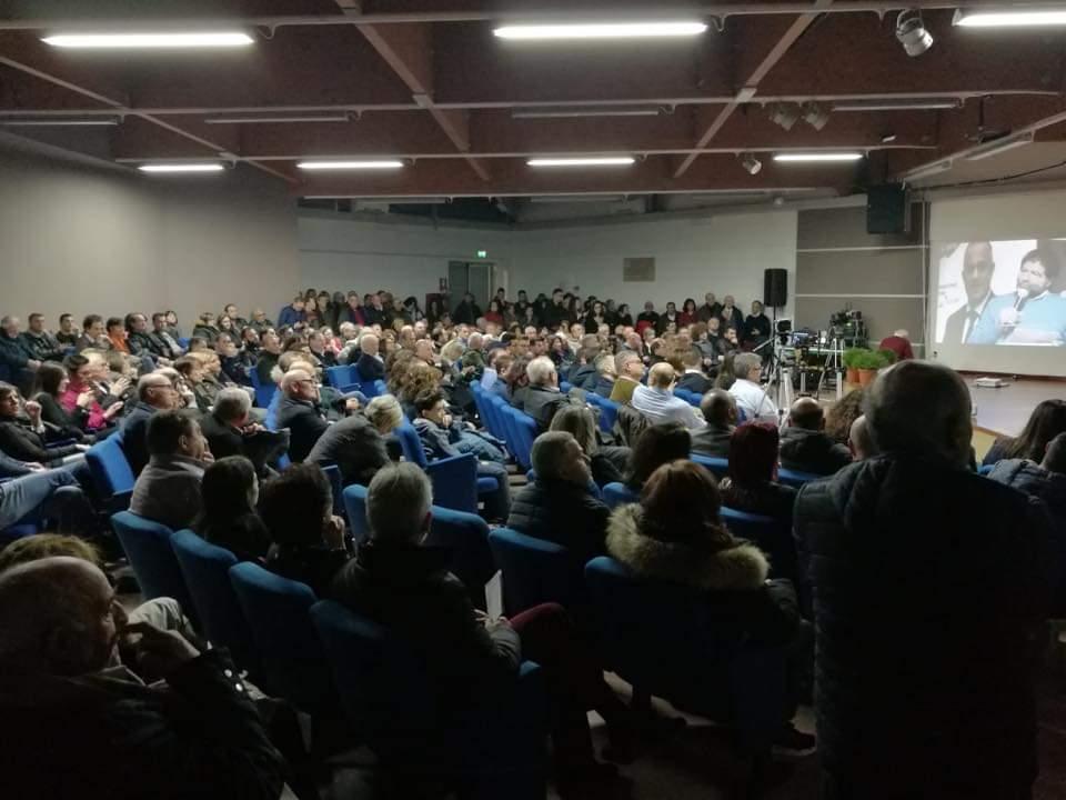 9 marzo il popolo di Cantiani e Trerotola in Val d'Agri