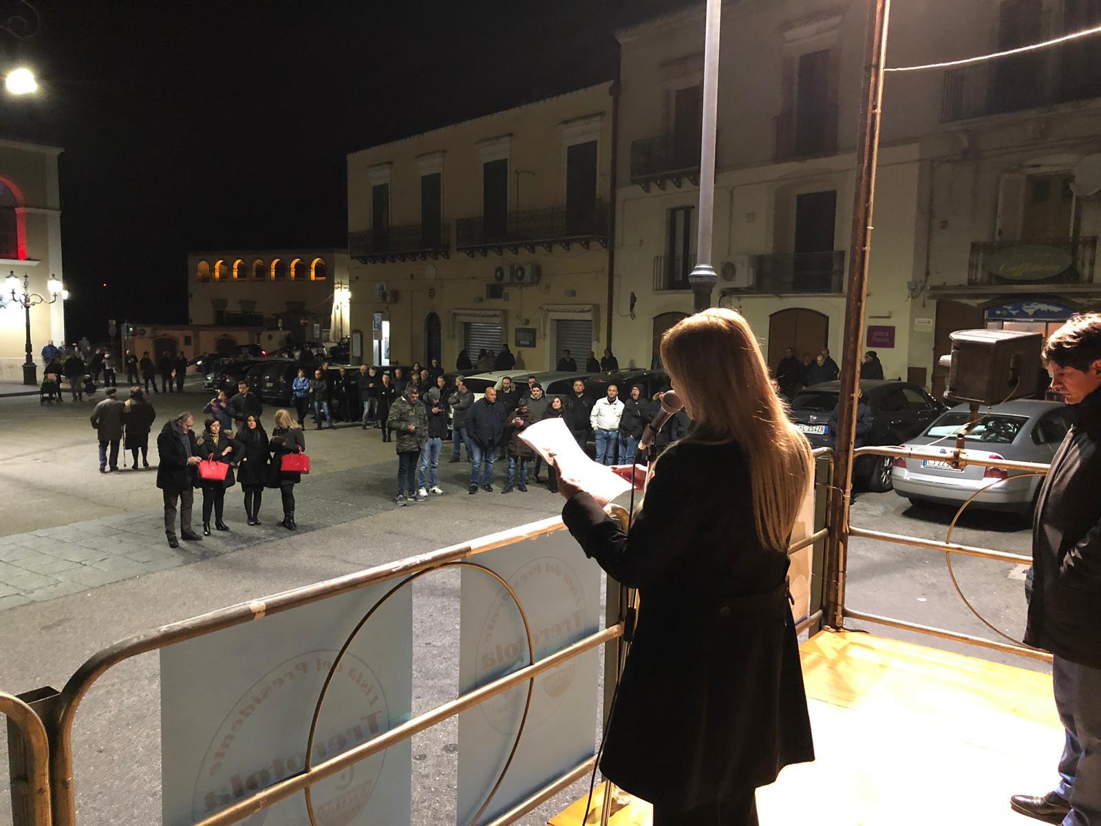 9 marzo il popolo di Cosma e Pirretti a Ferrandina