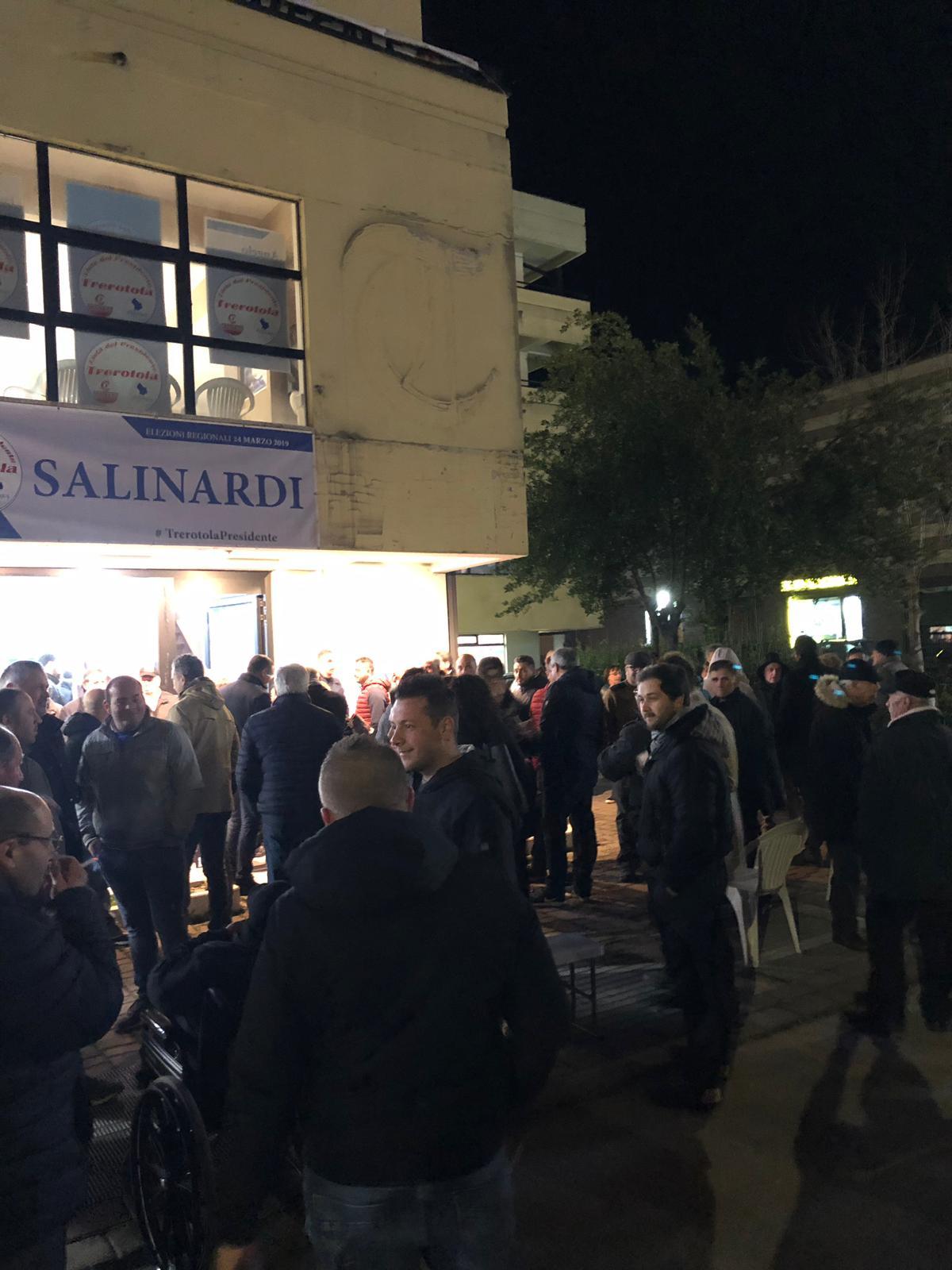 9 marzo il popolo di Salinardi e Conte li aspetta