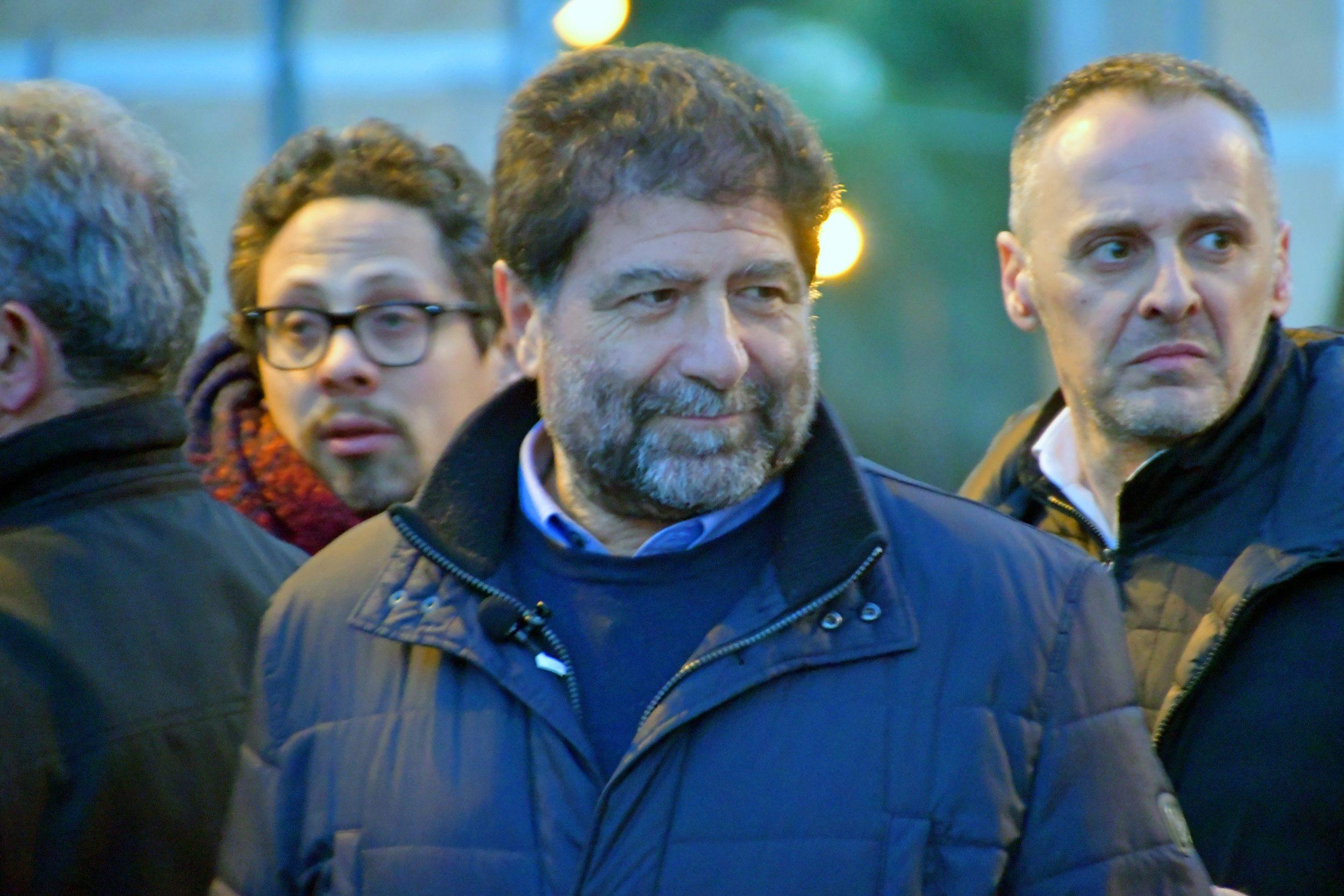 Zingaretti a Potenza per Carlo Trerotola - Foto di Giacomo Silvano