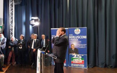 Berlusconi diventa l'oggetto dello scontro interno a Forza Italia in Basilicata