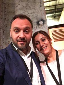 Maura Locantore con Mario Polese