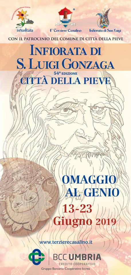 Programma Infiorata San Luigi Gonzaga 2019